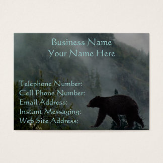 Wild Bear Animal-lovers Wildlife Gift Business Card