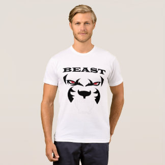 Wild Beast Animal with Red Eyes T-Shirt