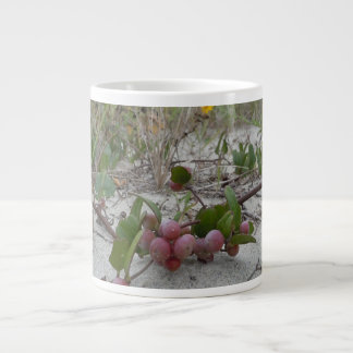 Wild Berries on the Beach Large Coffee Mug