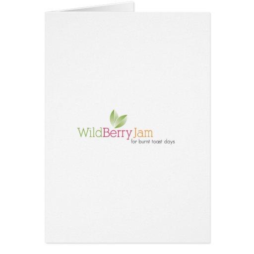 Wild Berry Jam Greeting Cards