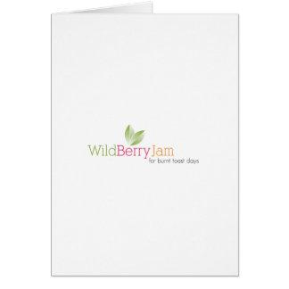 Wild Berry Jam Greeting Card