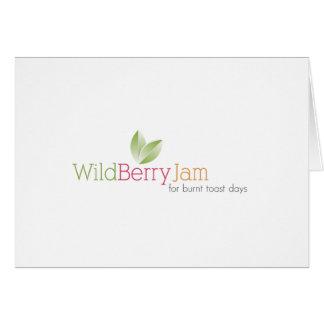 Wild Berry Jam Note Card