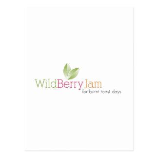 Wild Berry Jam Postcard
