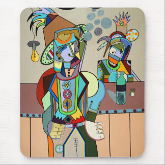 """""""Wild Bill"""" by Ruchell Alexander Mouse Pad"""