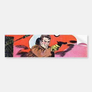 Wild Bill Hickok Comic Bumper Stickers