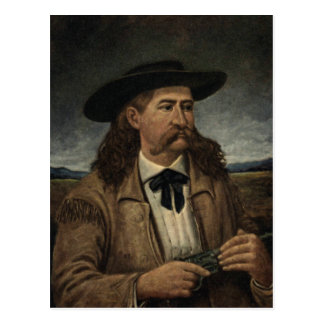 Wild Bill Hickok Painting Postcard