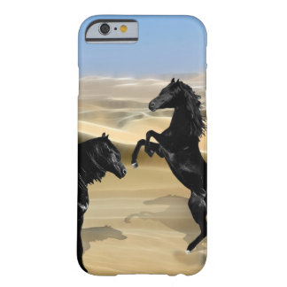 Wild black beauty horses barely there iPhone 6 case