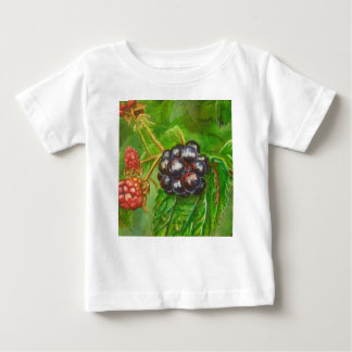 Wild Blackberries ripening in Summer Baby T-Shirt