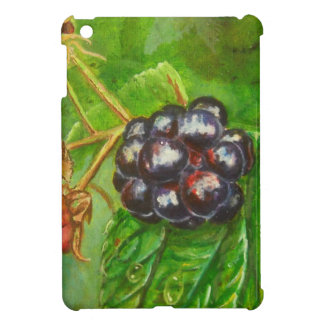Wild Blackberries ripening in Summer iPad Mini Cover