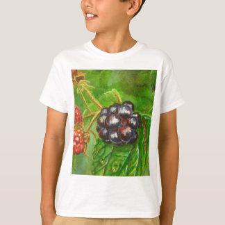 Wild Blackberries ripening in Summer T-Shirt