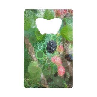 Wild Blackberry Summer Credit Card Bottle Opener