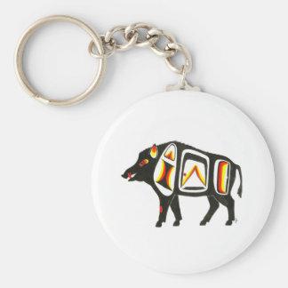 Wild boar 001 key ring