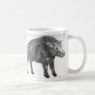 Wild Boar, Defensive Stance Coffee Mug