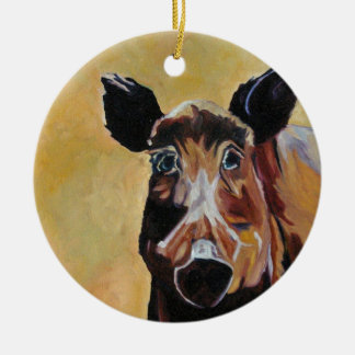 Wild Boar Fine Art Ornament