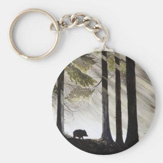 Wild Boar Key Ring