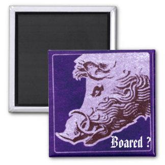 Wild  boar magnet- Boared ? Magnet