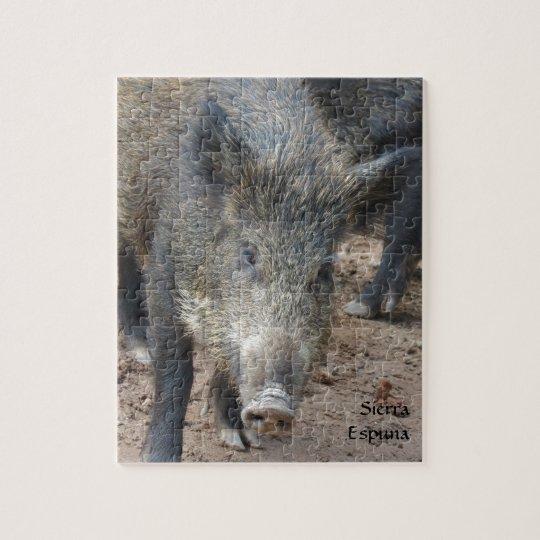 Wild Boar Sierra Espuna Jigsaw Puzzle