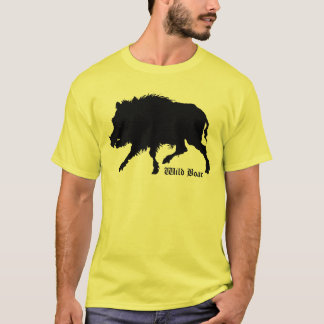 Wild Boar T-Shirt From Antique German Engraving
