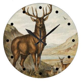 Wild Buck Wall Clock