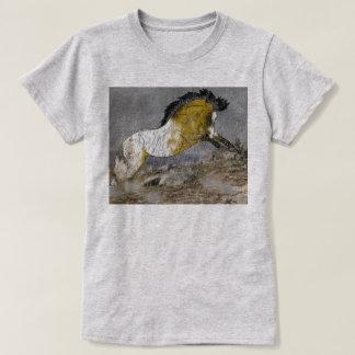 Wild Buckskin Appaloosa Horse T-Shirt