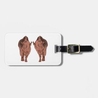 Wild Buffalo Luggage Tag