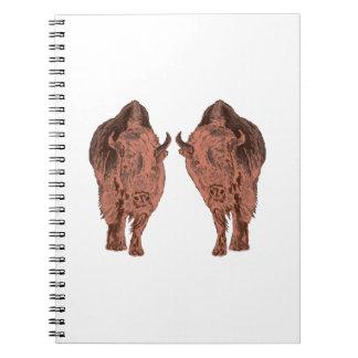 Wild Buffalo Note Books