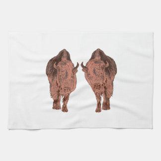 Wild Buffalo Tea Towel