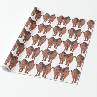 Wild Buffalo Wrapping Paper