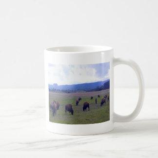 Wild Buffaloes Coffee Mug