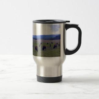 Wild Buffaloes Travel Mug