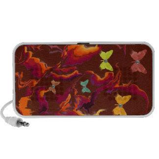 Wild Butterflies Doodle Laptop Speakers