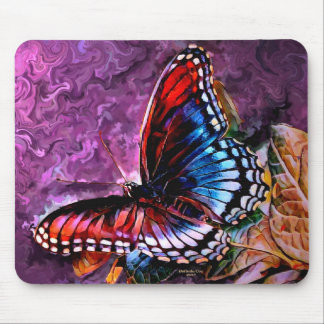 Wild Butterfly Mouse Pad Digital Painting