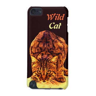 WILD CAT KITTEN iPod TOUCH (5TH GENERATION) CASES