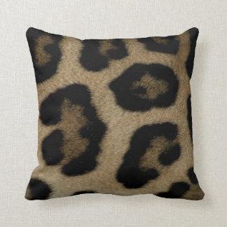 Wild Cat  Leopard Spots Throw Pillow