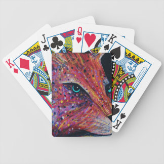 Wild Cat -Painting from 2015 Bicycle Playing Cards
