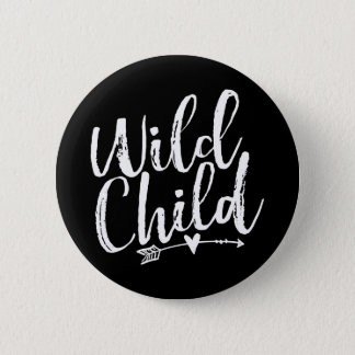 Wild Child 6 Cm Round Badge