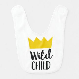 Wild Child Baby Bib
