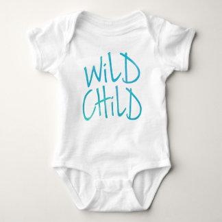 Wild Child Baby One Piece Baby Bodysuit