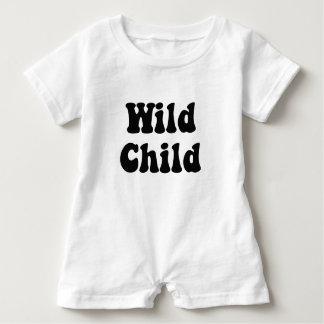 Wild Child Baby Romper Baby Bodysuit