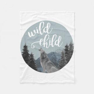 Wild Child Fleece Blanket