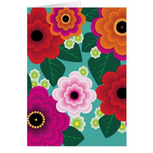 Wild Child Flower Power Card