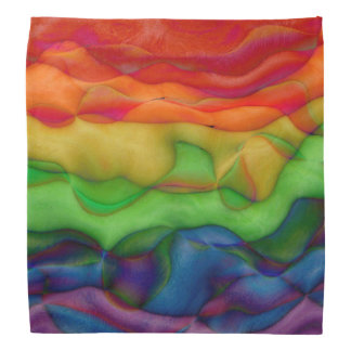 Wild Child Funky Hippy Rainbow Bandana