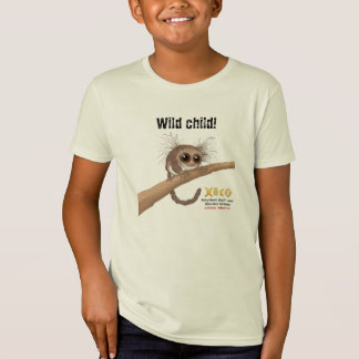 Wild Child - Hairy-eared Dwarf Lemur T-Shirt