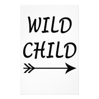 Wild Child present Stationery