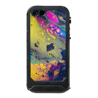 "Wild Colorful Acrylic ""Dirty Pour"" Incipio ATLAS ID™ iPhone 5 Case"