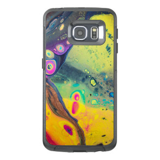 """Wild Colorful Acrylic """"Dirty Pour"""" OtterBox Samsung Galaxy S6 Edge Case"""