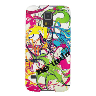 Wild colors and forms galaxy s5 cover