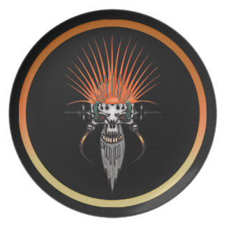 Wild Cyber Skull With Tusks Plates