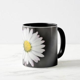Wild Daisy White and Yellow Mug