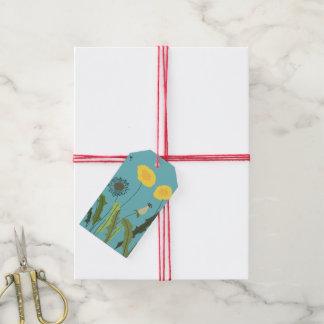 Wild Dandelion Print Gift Tags